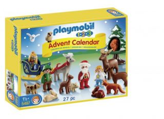 Playmobil #5497 - 1.2.3 Advent Calendar Christmas in the Forest