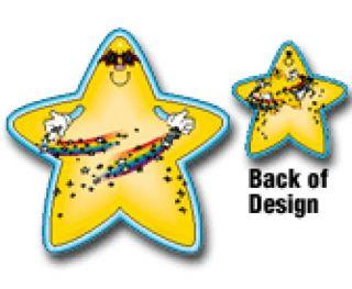 2-Sided Decoration - Star #4122