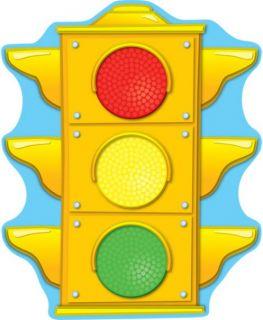 2-Sided Decoration - Stoplight #188014