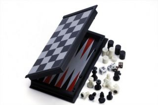 3-IN-1 Chess/Checkers/Backgammon