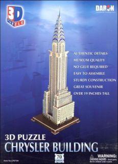3D Puzzle - Chrysler Building