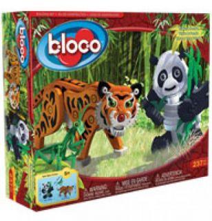 Bloco - Tiger & Panda