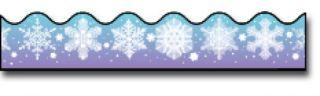 Borders_Scalloped - Snowflakes #CD1225