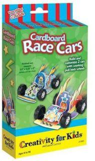 Cardboard Race Cars