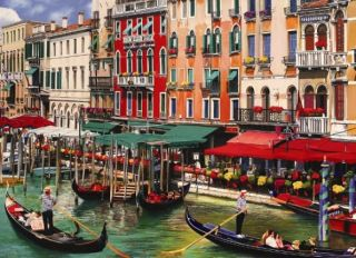 Cobble Hill 1000 pcs Puzzle - Venice in the Summer