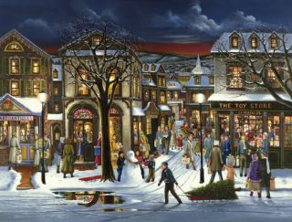Cobble Hill 500 pcs Puzzle - Tis the Season