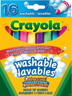 Crayola Markers Colossal Broad Line 16 Colors