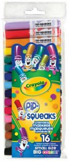 Crayola Pip-Squeaks Markers 16 Colors