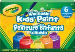 Crayola Washable Kids' Paint 6 Colors