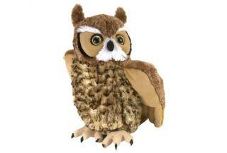 "Cuddlekins 12"" Plush - Great Horned Owl"