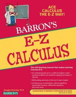 E-Z Calculus Self-Teaching Manual