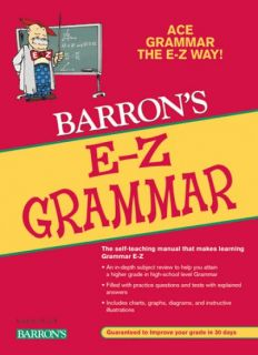 E-Z Grammar Self-Teaching Manual