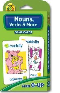 Flash Cards - Nouns, Verbs & More