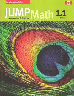 JUMP Math 1 1 / Workbook Grade 1, part 1 of 2 [9781897120620