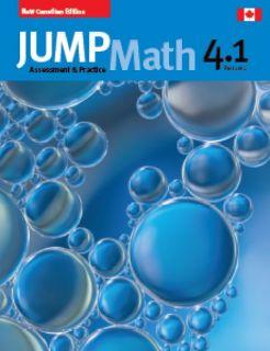 Book 4 JUMP Math 4.1 Part 1 of 2