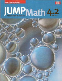 JUMP Math 4 2 / Workbook Grade 4, part 2 of 2 [9781897120729