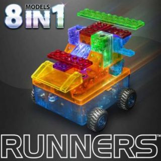 Laser Pegs Car Runner - 8 in 1 Models Kit