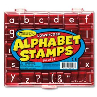 Learning Resources - Lowercase Alphabet Stamps