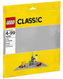 LEGO #10701 - Classic : Grey Baseplate