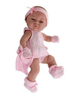 "Los Bebitos 17.5"" Paola Reina European Baby Girl"
