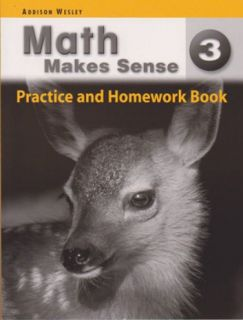 Math Makes Sense Practice & HmWk Bk 3