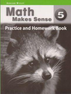 Math Makes Sense Practice & HmWk Bk 5
