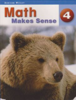 Math Makes Sense Text Book 4