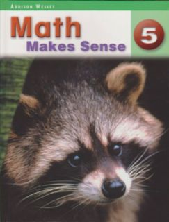 Math Makes Sense Text Book 5