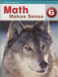 Math Makes Sense Text Book 6