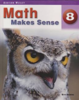 Math Makes Sense Text Book 8
