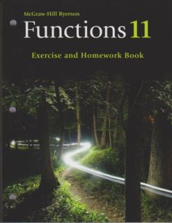 McGraw-Hill Ryerson Functions 11 - Excercise & Homework Book