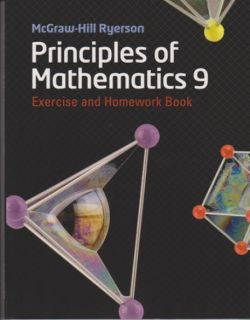 McGraw-Hill Ryerson Principles Of Math 9 - Exercise & Homework Book