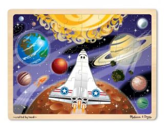 M&D Wooden Jigsaw Puzzle, 48 pcs Puzzle - Space Voyage