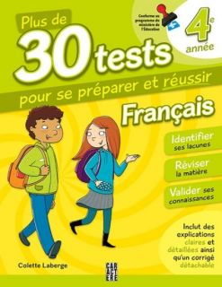 More Than 30 Tests on French Language - Grade 4
