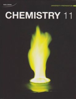 Nelson Chemistry 11 University Preparation