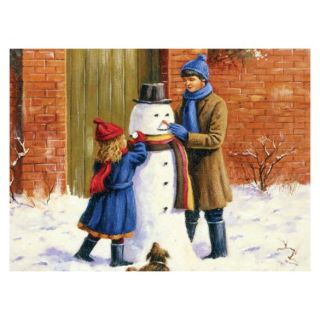 Painting By Numbers - 10 Colors Set : The Snowman