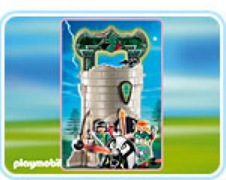 Playmobil #4775 - Knights Take Along Tower