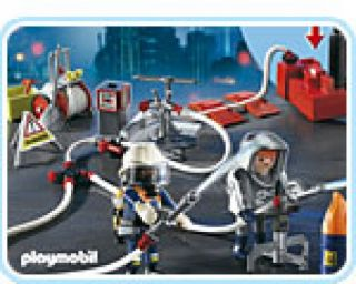 Playmobil #4825 - Fire Fighters With Water Pump