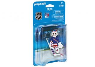 Playmobil #5081 - NHL New York Rangers Goalie