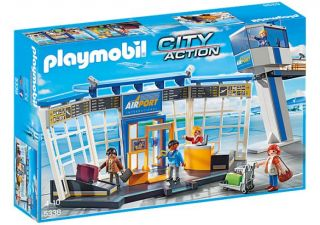 Playmobil #5338- Airport with Control Tower