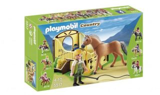 Playmobil #5517 - Work Horse with Stall