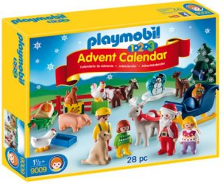 Playmobil #9009 Advent Calendar : 1.2.3 Christmas on the Farm