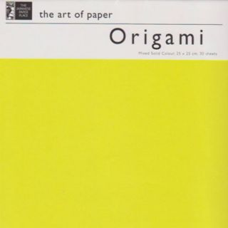 Origami Paper - 25 cm Mixed Solid Colours