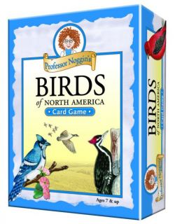 Professor Noggin's Card Game - Birds of North America