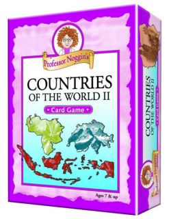 Professor Noggin's Card Game - Countries of the World II