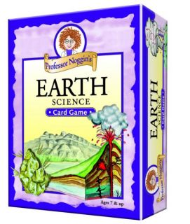 Professor Noggin's Card Game - Earth Science
