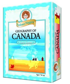 Professor Noggin's Card Game - Geography of Canada