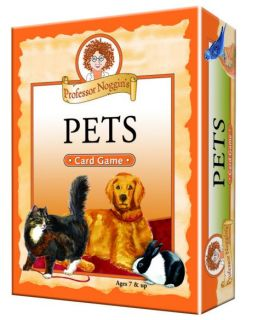 Professor Noggin's Card Game - Pets