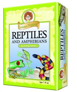 Professor Noggin's Card Game - Reptiles and Amphibians