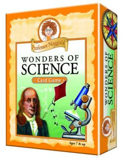 Professor Noggin's Card Game - Wonders of Science